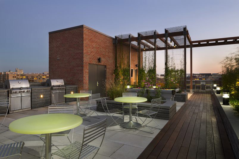 Rooftop rendering