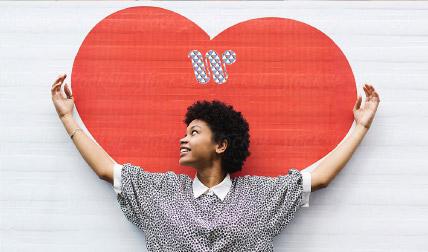 W heart
